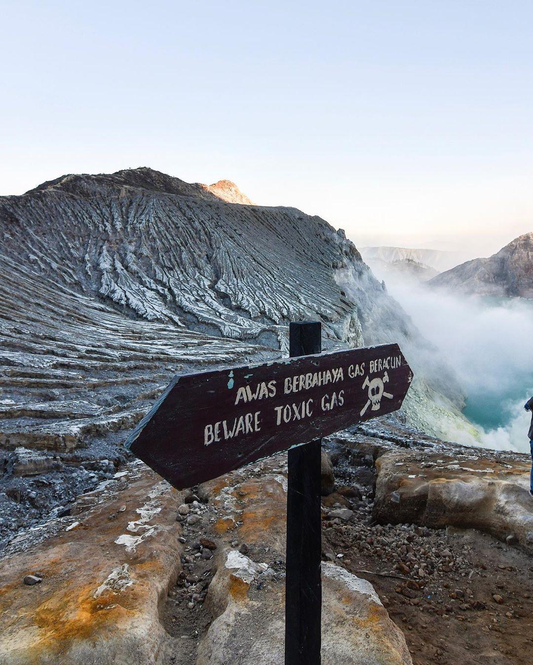 Ijen Volcano, Ijen Mountain