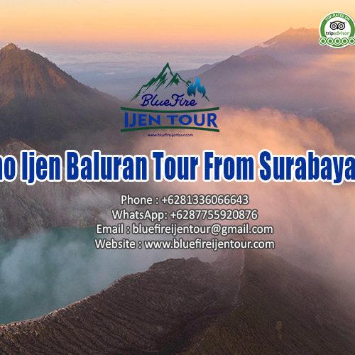 Bromo Ijen Baluran Tour From Surabaya 4D3N