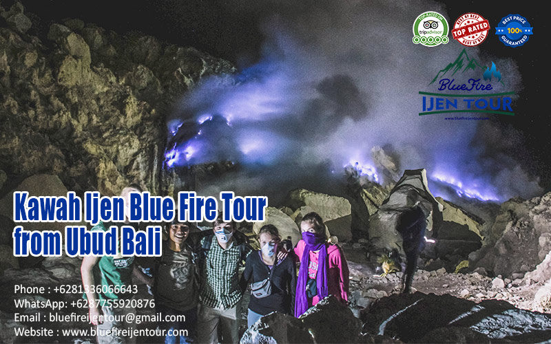Ijen crater tour from ubud Bali, ubud ijen tour package