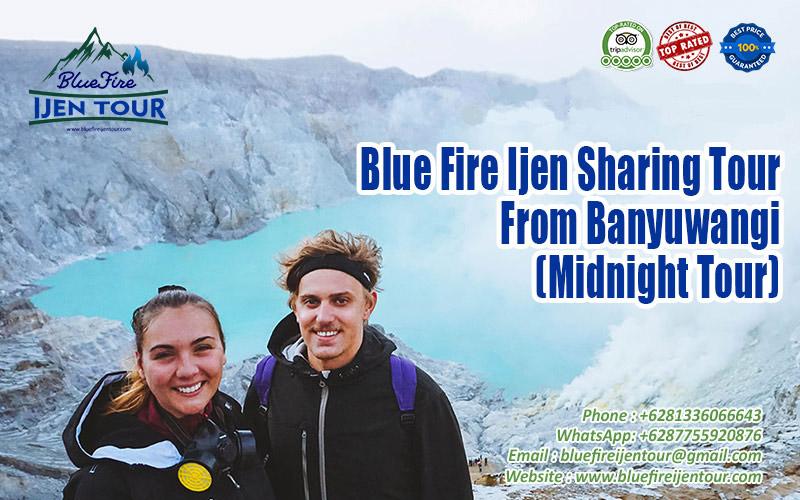 Ijen sharing tour, Ijen crater tour from Banyuwangi,