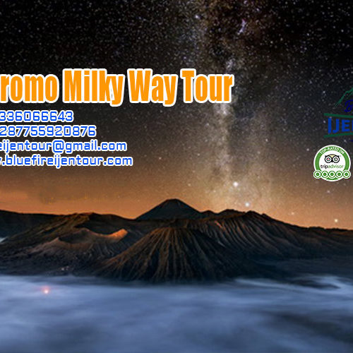 Mount Bromo Milky Way Tour 2D1N, Bromo milky way tour package