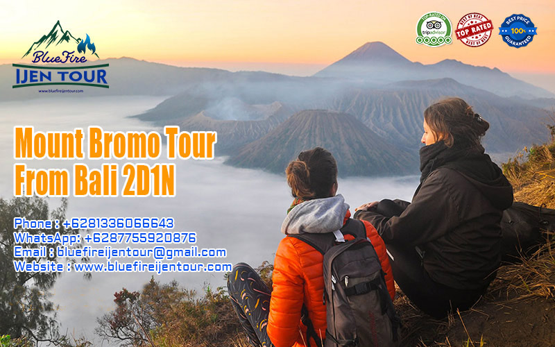 Mount bromo tour from bali 2d1n