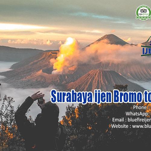 Surabaya ijen Bromo tour 3D2N