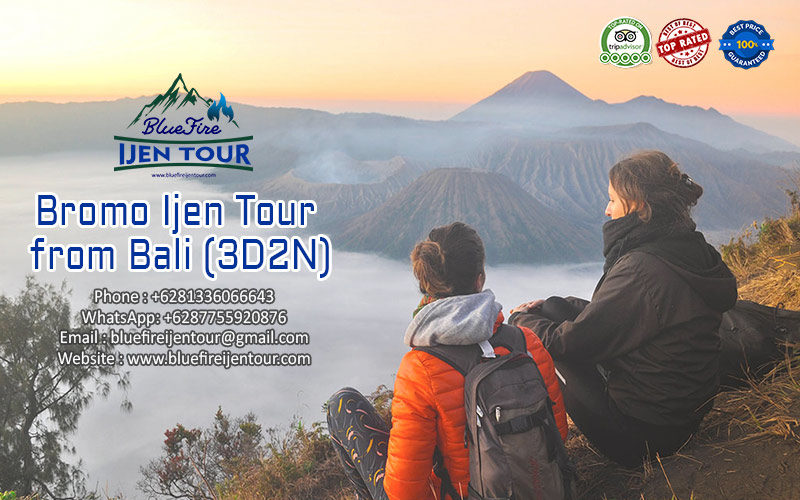 Bromo Ijen Tour from Bali 3D2N