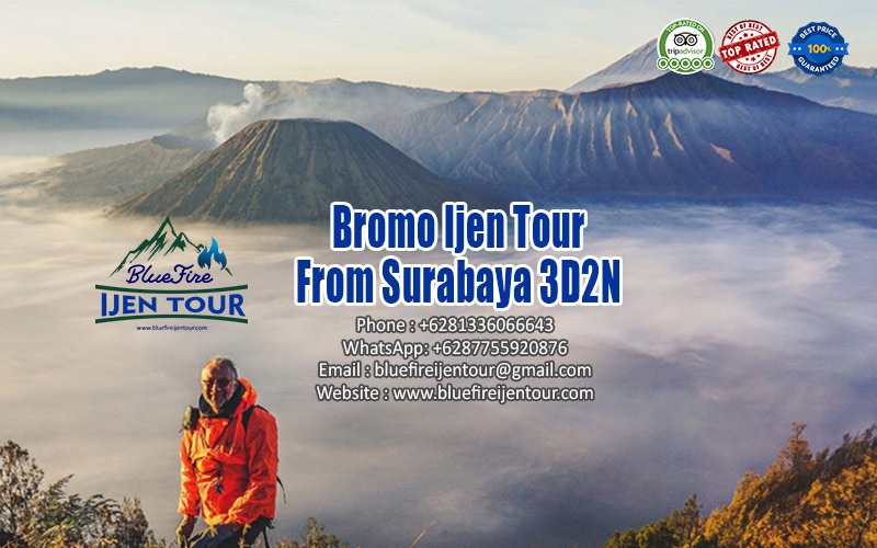 Bromo Ijen Tour From Surabaya 3D2N