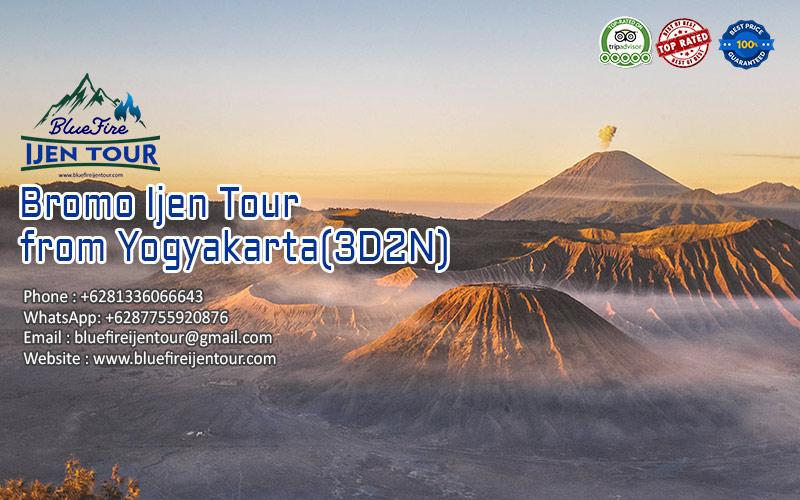 Bromo Ijen Tour from Yogyakarta 3D2N