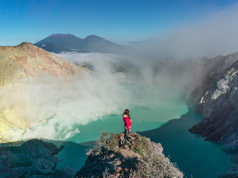 How to get to Ijen Crater from Surabaya