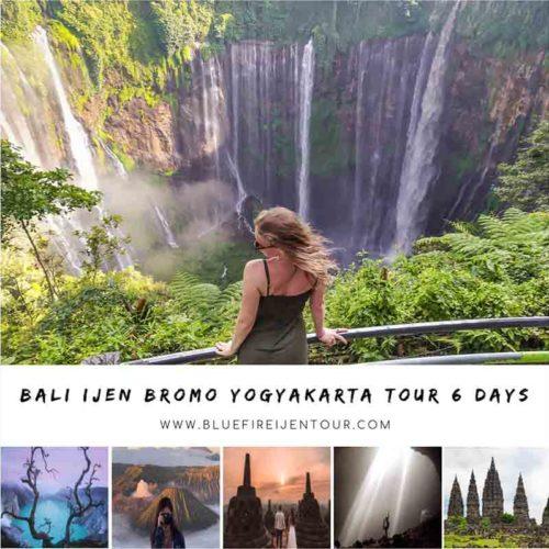 Bali Ijen Bromo Yogyakarta Tour 6D5N
