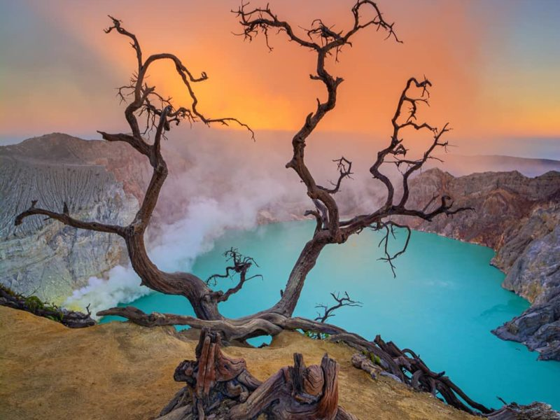 Ijen Plateau Blue Flame Tour from Banyuwangi
