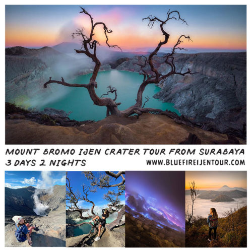 Mount Bromo Ijen Crater Tour From Surabaya 3 Days 2 Nights